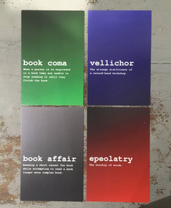 Ombré Bookish Definitions prints