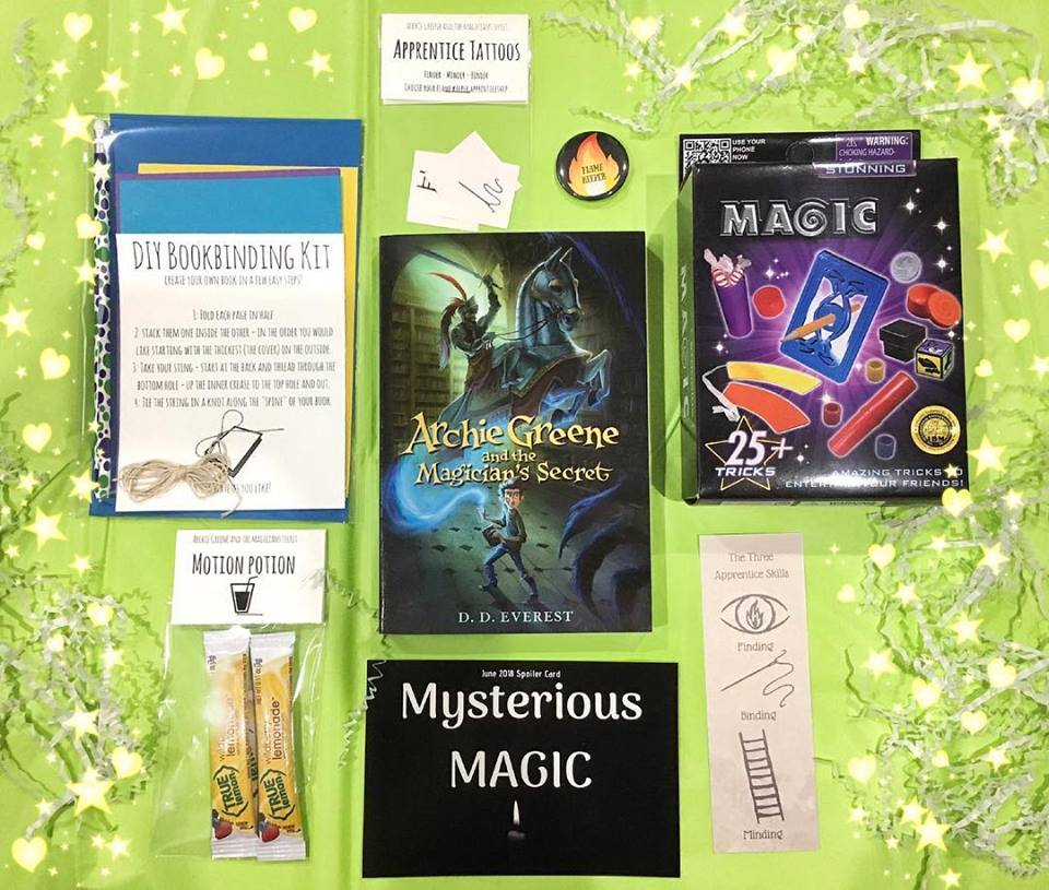 VIBookcrate JR June 2018 Box - Mysterious Magic