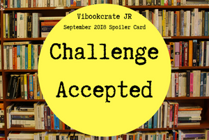 VIBookcrate Jr September 2018 Box - Challenge Accepted