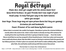 VIBookcrate Jr March 2019 Box - Royal Betrayal