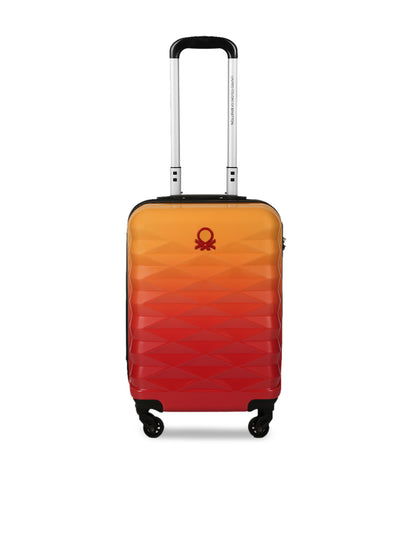 Textured Cabin Trolley Suitcase