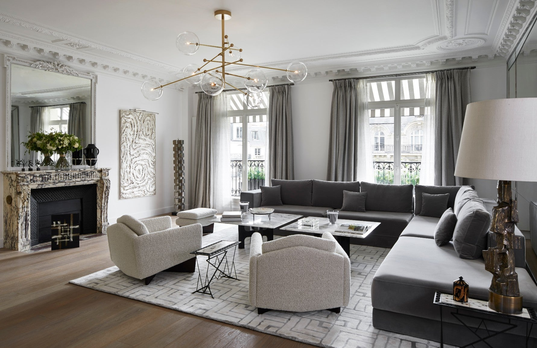 Natalia Miyar | Luxury Interior Design | Neutral Living Rooms | Read more in the LuxDeco.com Style Guide