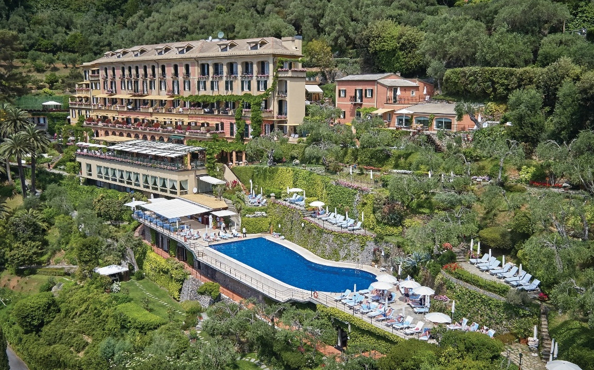 10 Best Hotel Swimming Pools Around The World - Belmond Hotel Splendido, Italy - LuxDeco.com Style Guide