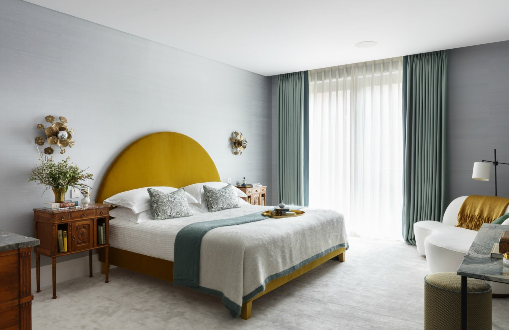 2020 Interior Design Trends | Muted colour contrasts | Studio Ashby | Read more on LuxDeco.com Style Guide