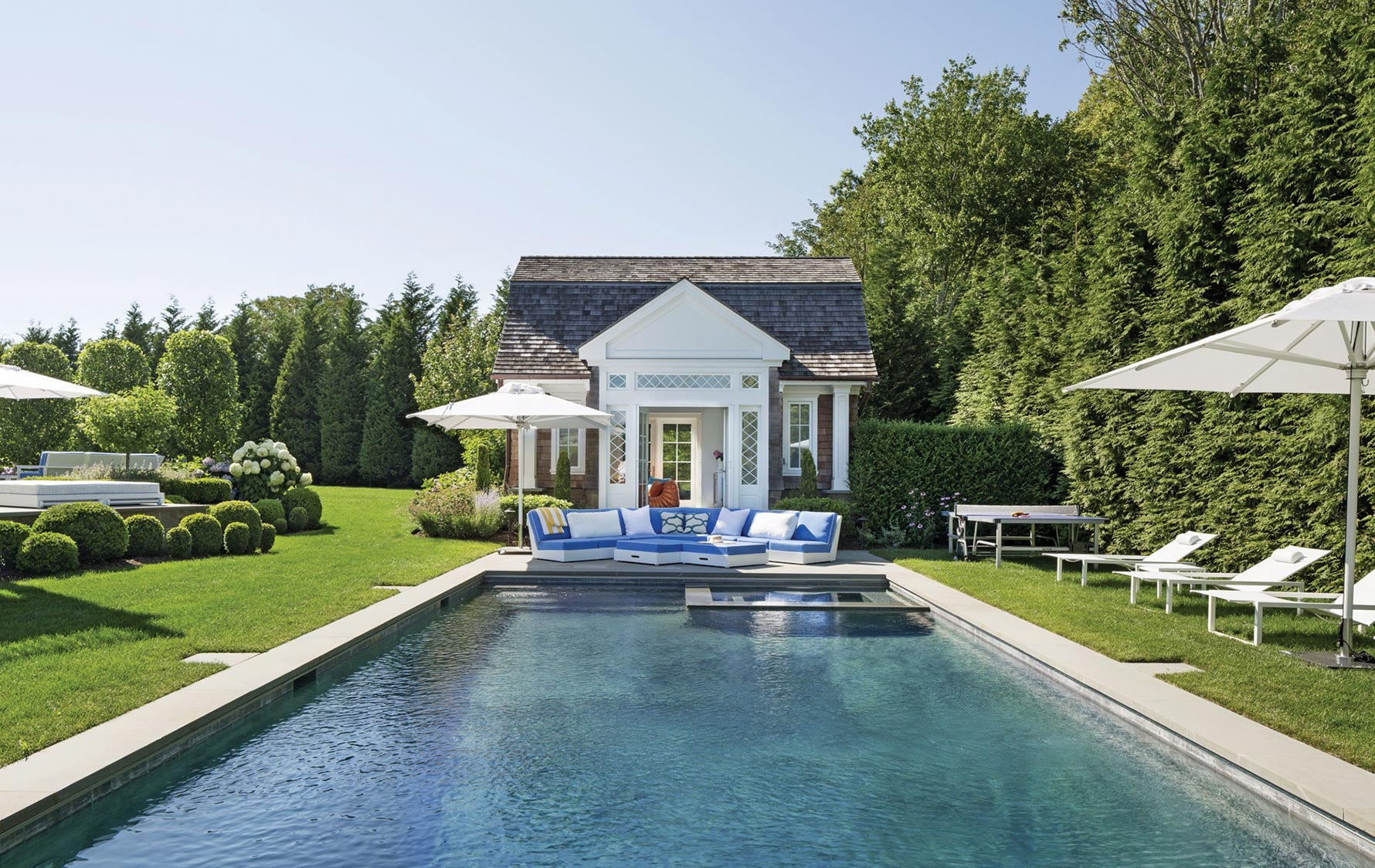 Pool House Ideas, Outdoor Space Ideas | Read more in The Luxurist | LuxDeco.com