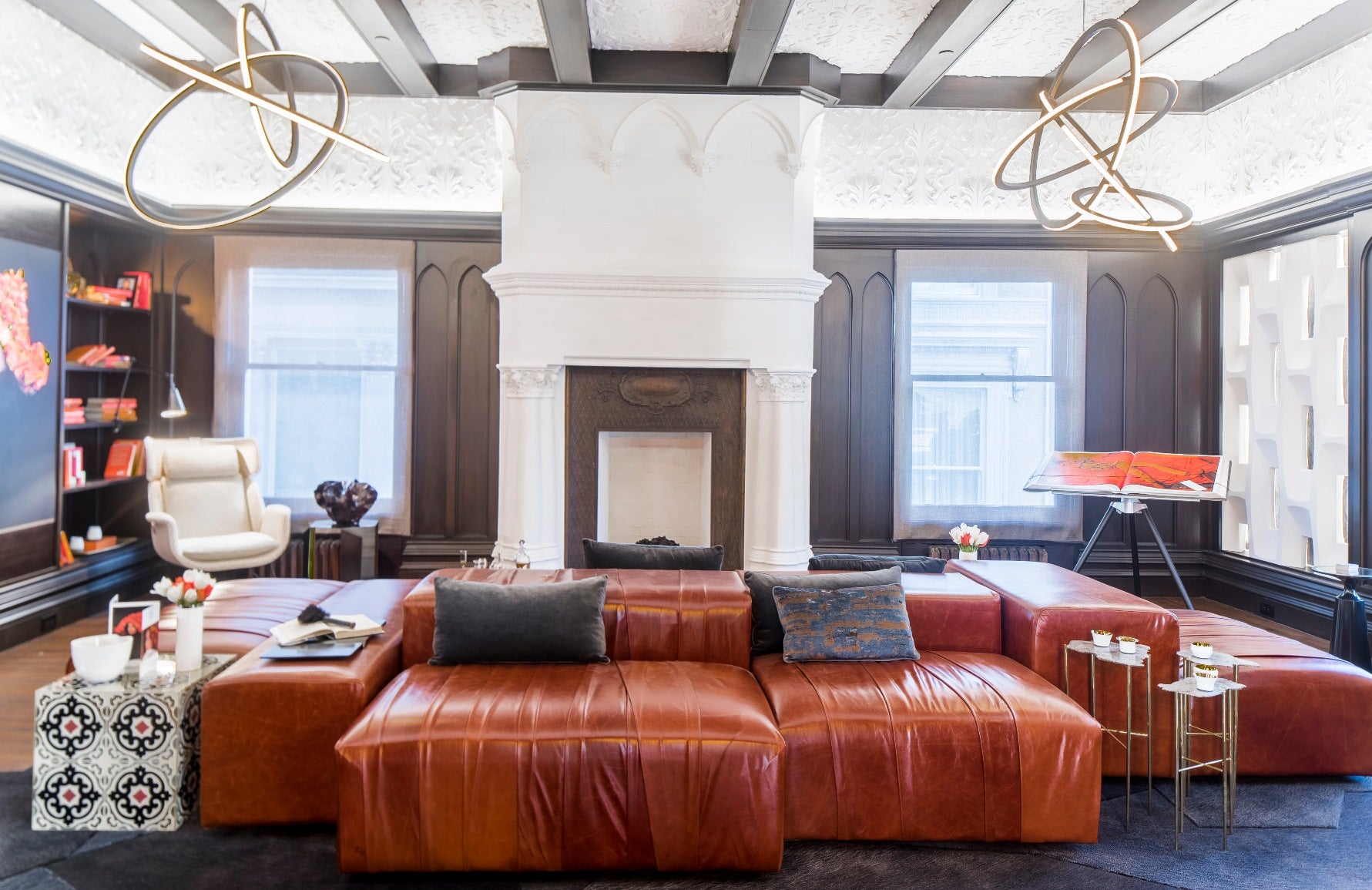 Living Room Lighting Ideas – SF Designer Showhouse – Read more on LuxDeco.com
