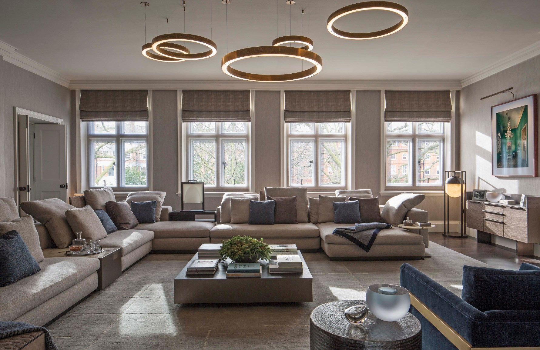 Neutral Living Rooms | Staffan Tollgård | Read more in the LuxDeco Style Guide