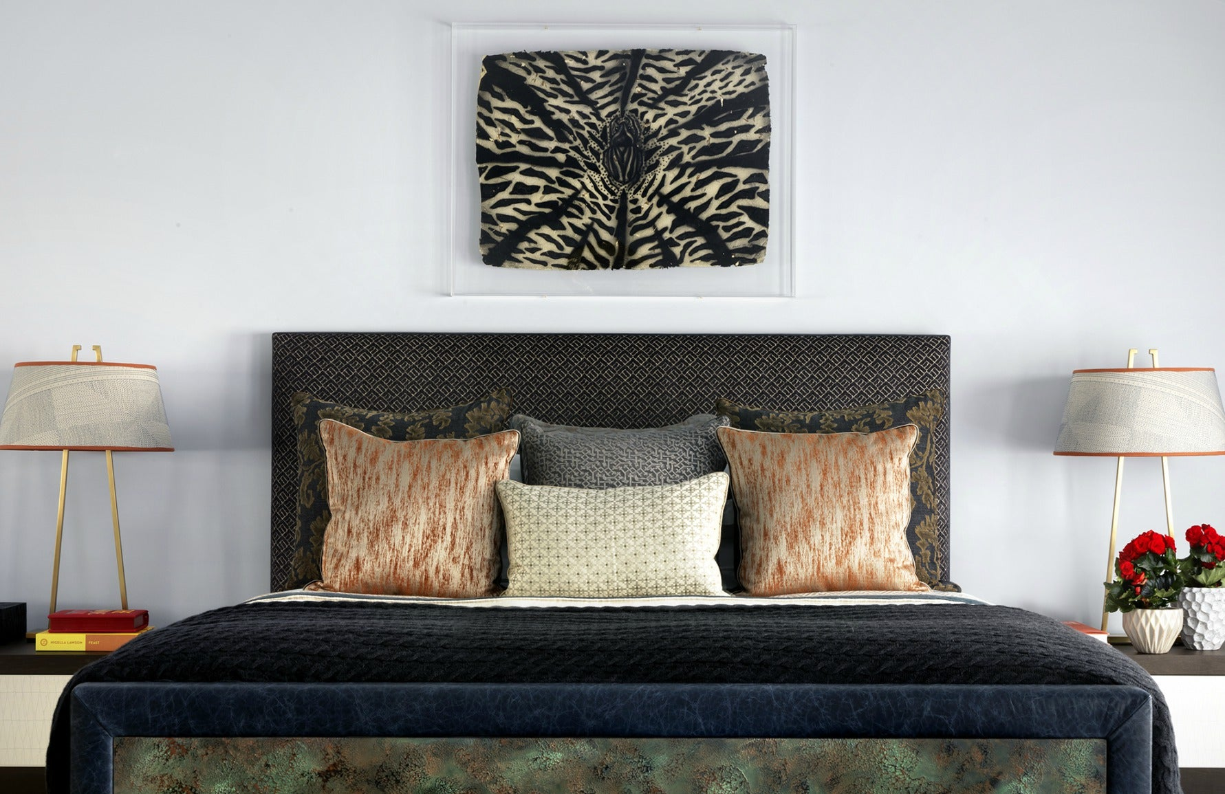 6 Ideas How To Style Your Bedside Table Like a Pro | LuxDeco