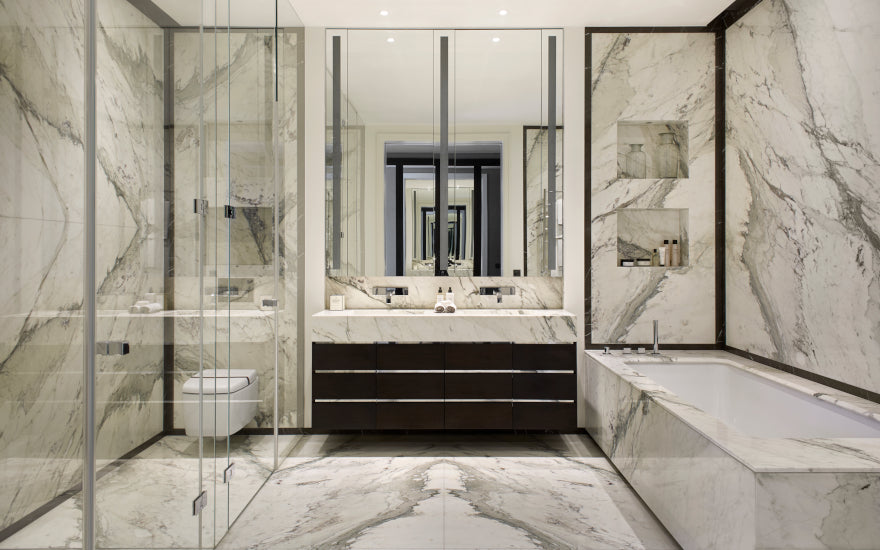 7 Guest Bathroom Styling Ideas to Impress your Guests | Finchatton | LuxDeco.com Style Guide