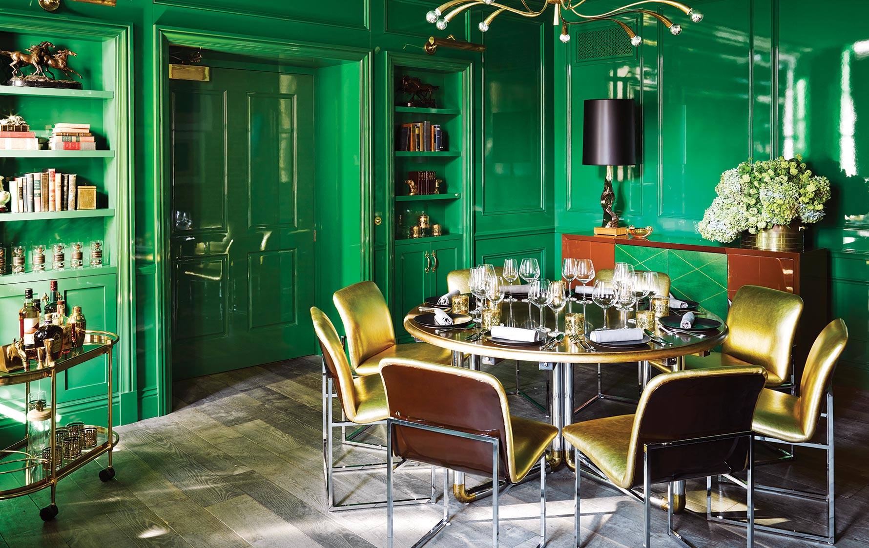 Green Room Inspiration – Ken Fulk – LuxDeco.com Style Guide