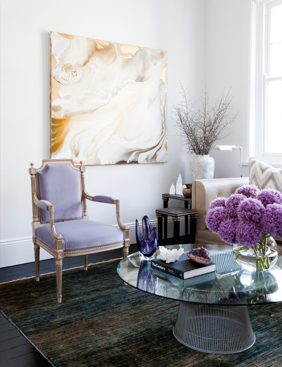 7 Ways To Decorate With Flowers In Your Home Interior - Brendan Wong Design - LuxDeco Style Guide
