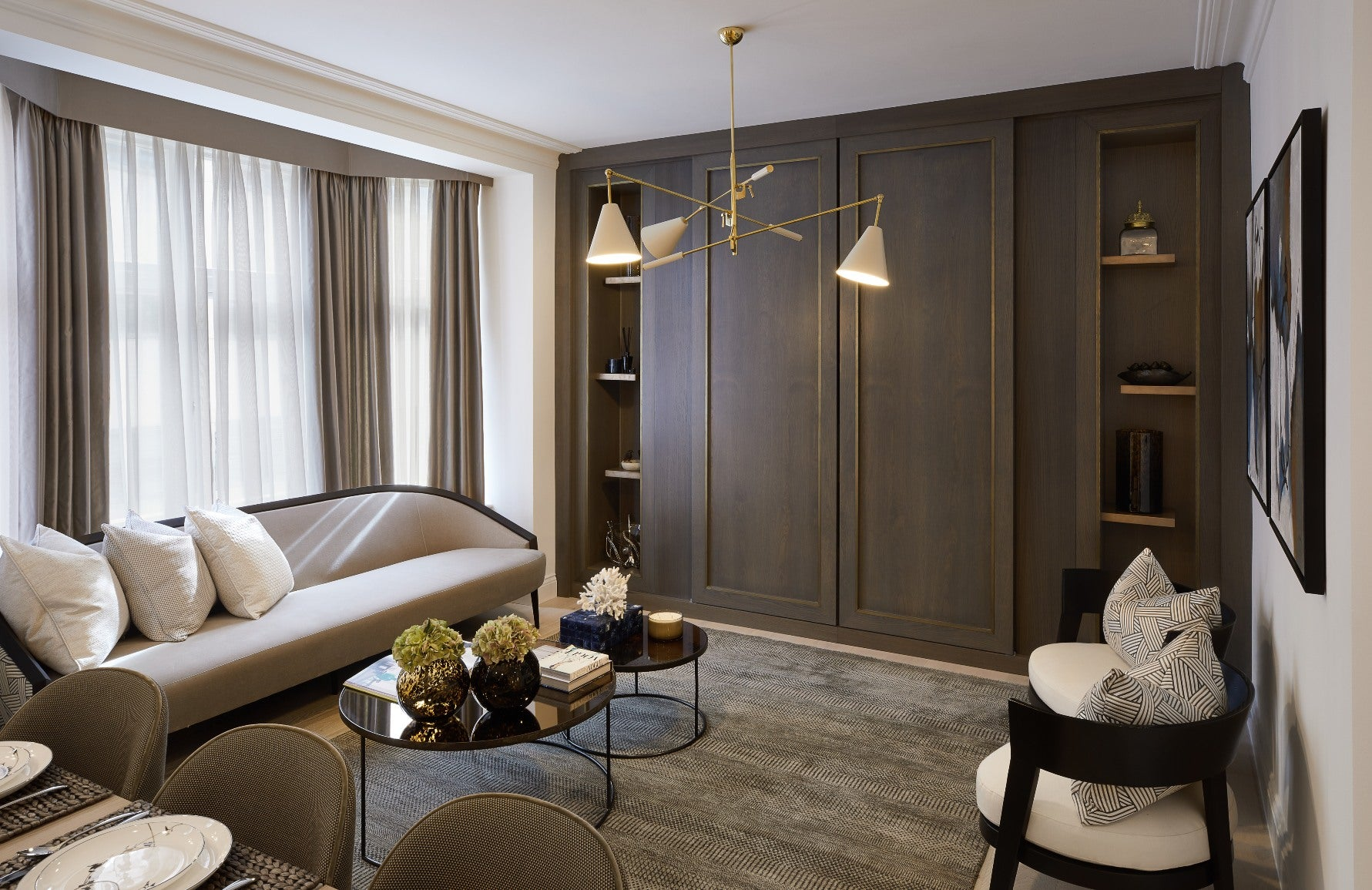 Neutral Living Rooms |Celine Estates | Read more in the LuxDeco Style Guide