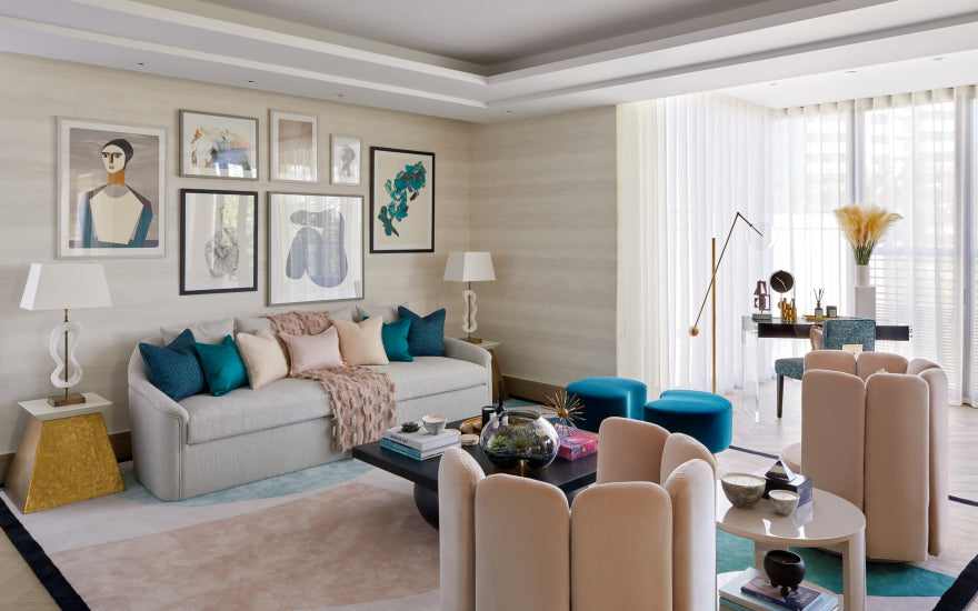 8 Feature Wall Ideas for your Living Room - Elicyon - LuxDeco Style Guide