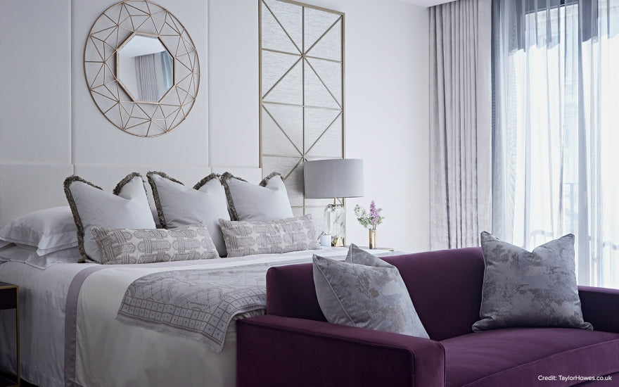 9 Ways to Decorate & Fill Empty Bedroom Corners - Awkward Bedroom Corners - Taylor Howes - LuxDeco.com Style Guide