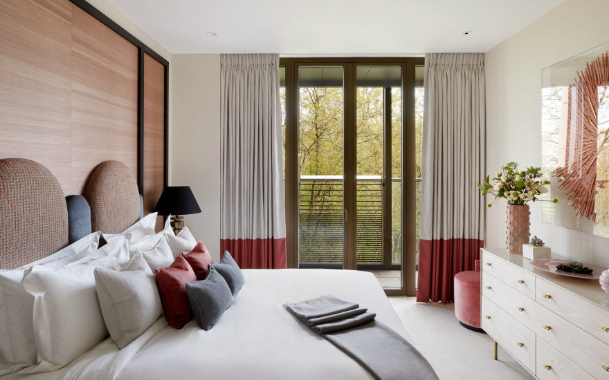 9 Ways to Decorate & Fill Empty Bedroom Corners - Awkward Bedroom Corners - Elicyon - LuxDeco.com Style Guide