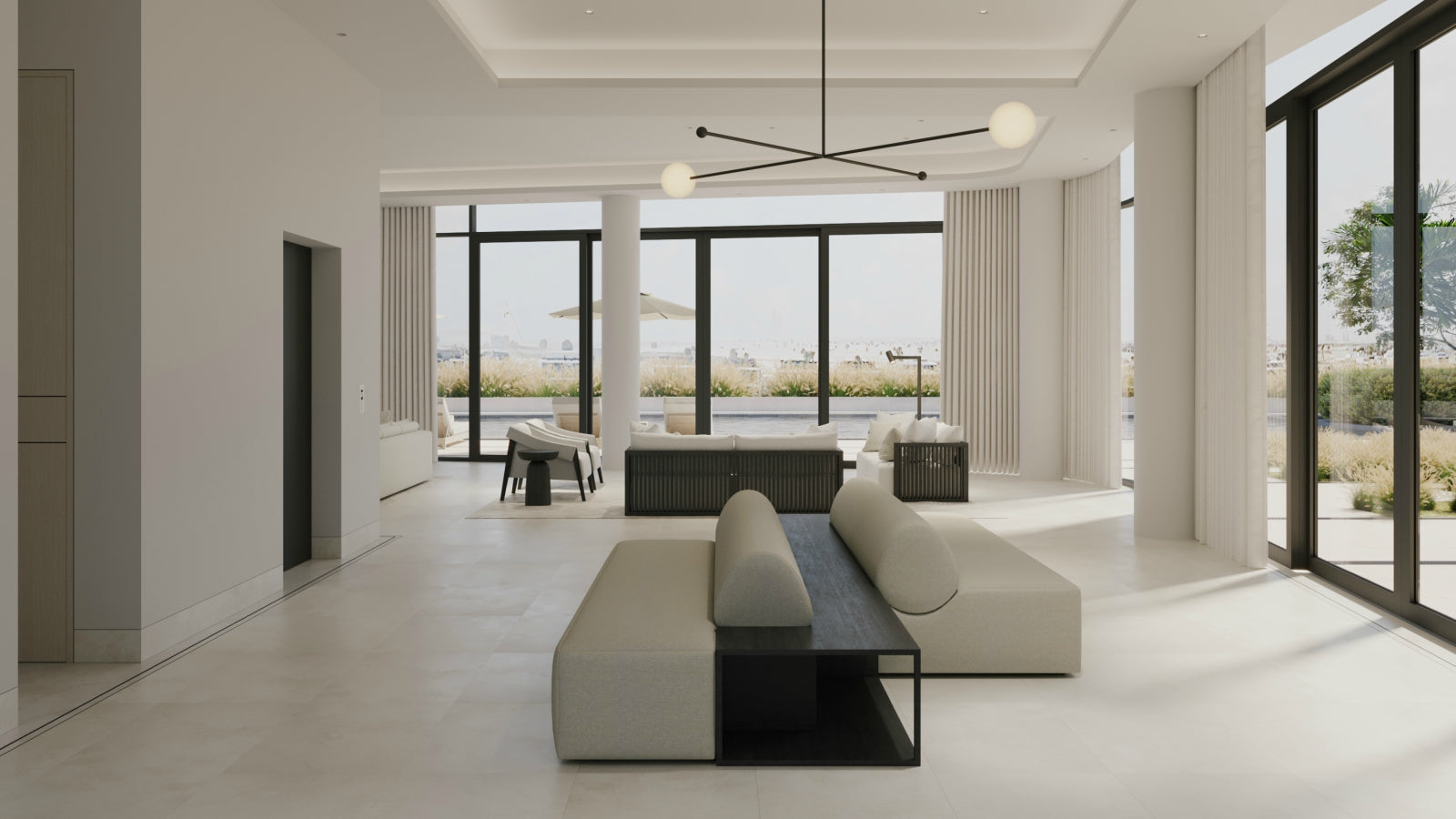 Alix Lawson | Minimalist Living Room | The Luxurist |  LuxDeco.com