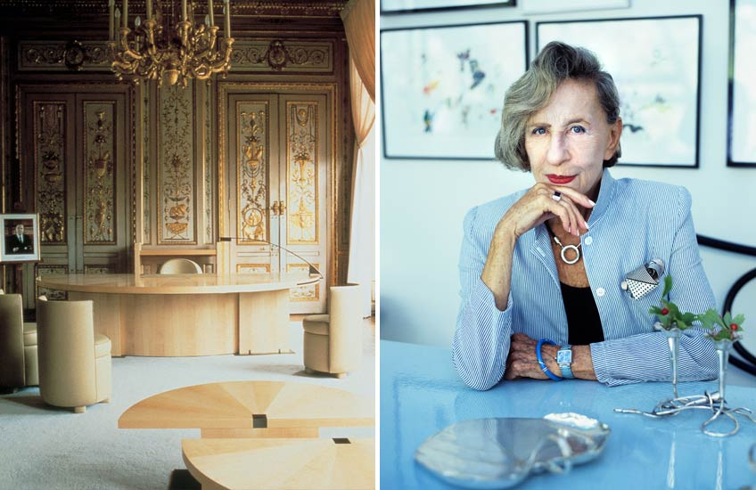 Female Interior Designers who Changed the Industry - Andrée Putman - LuxDeco Style Guide