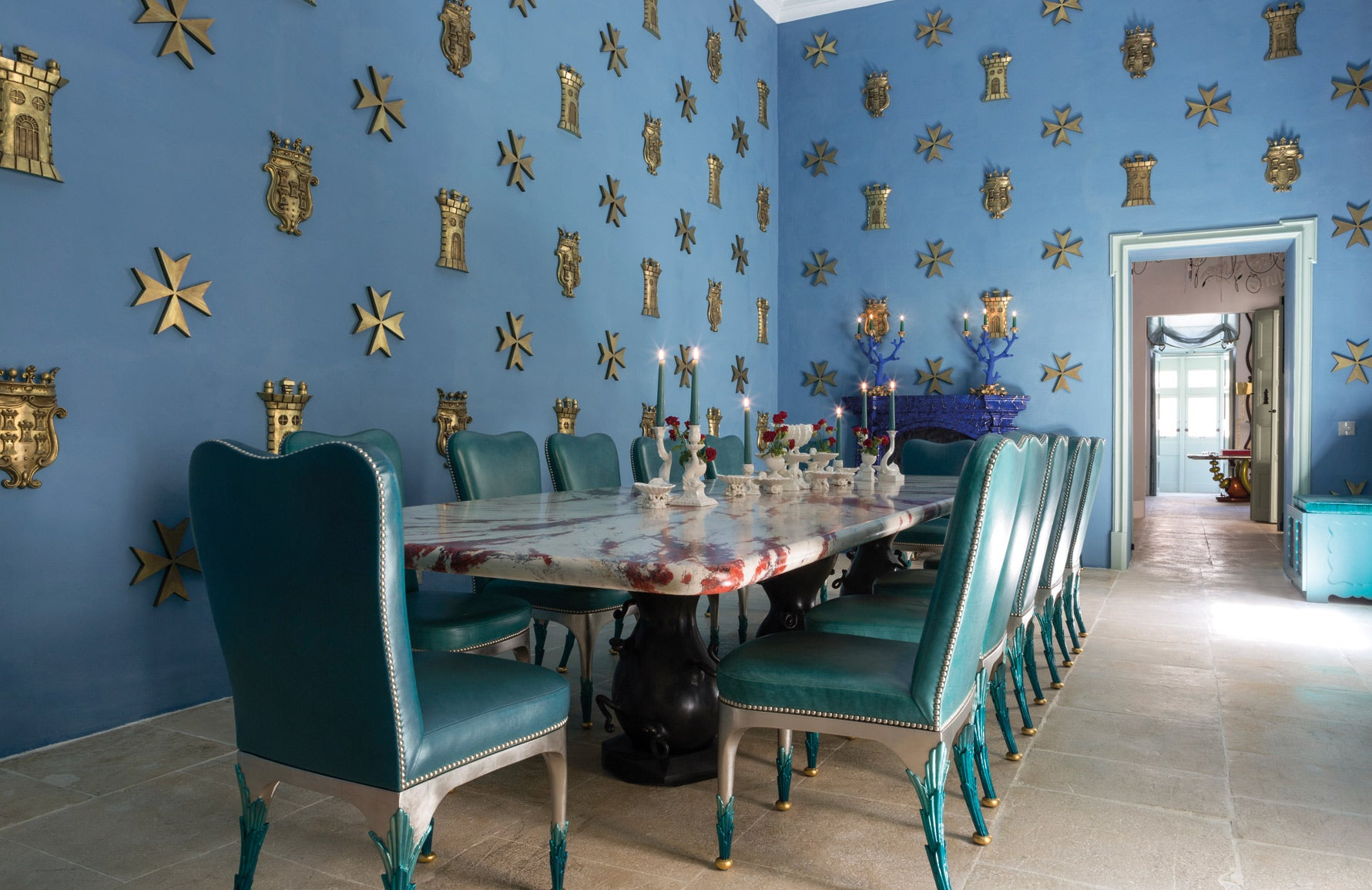 Art Podcast with Francis Sultana | Blue Dining Room | Design As Art | The Tastemakers | LuxDeco.com