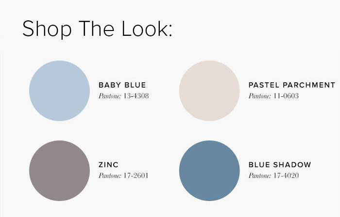 Baby Blue and Cream Bedroom Colour swatches - Bedroom Colour Scheme Ideas & Combinations – LuxDeco Style Guide