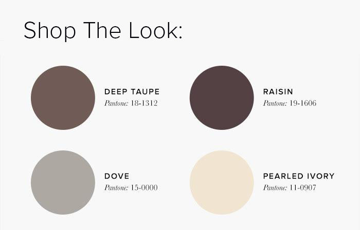 Brown Bedroom Colour swatches - Bedroom Colour Scheme Ideas & Combinations – LuxDeco Style Guide
