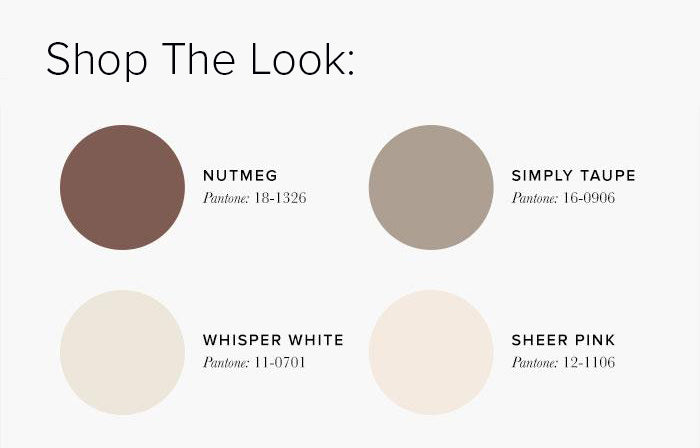 brown and cream Bedroom Colour swatches - Bedroom Colour Scheme Ideas & Combinations – LuxDeco Style Guide