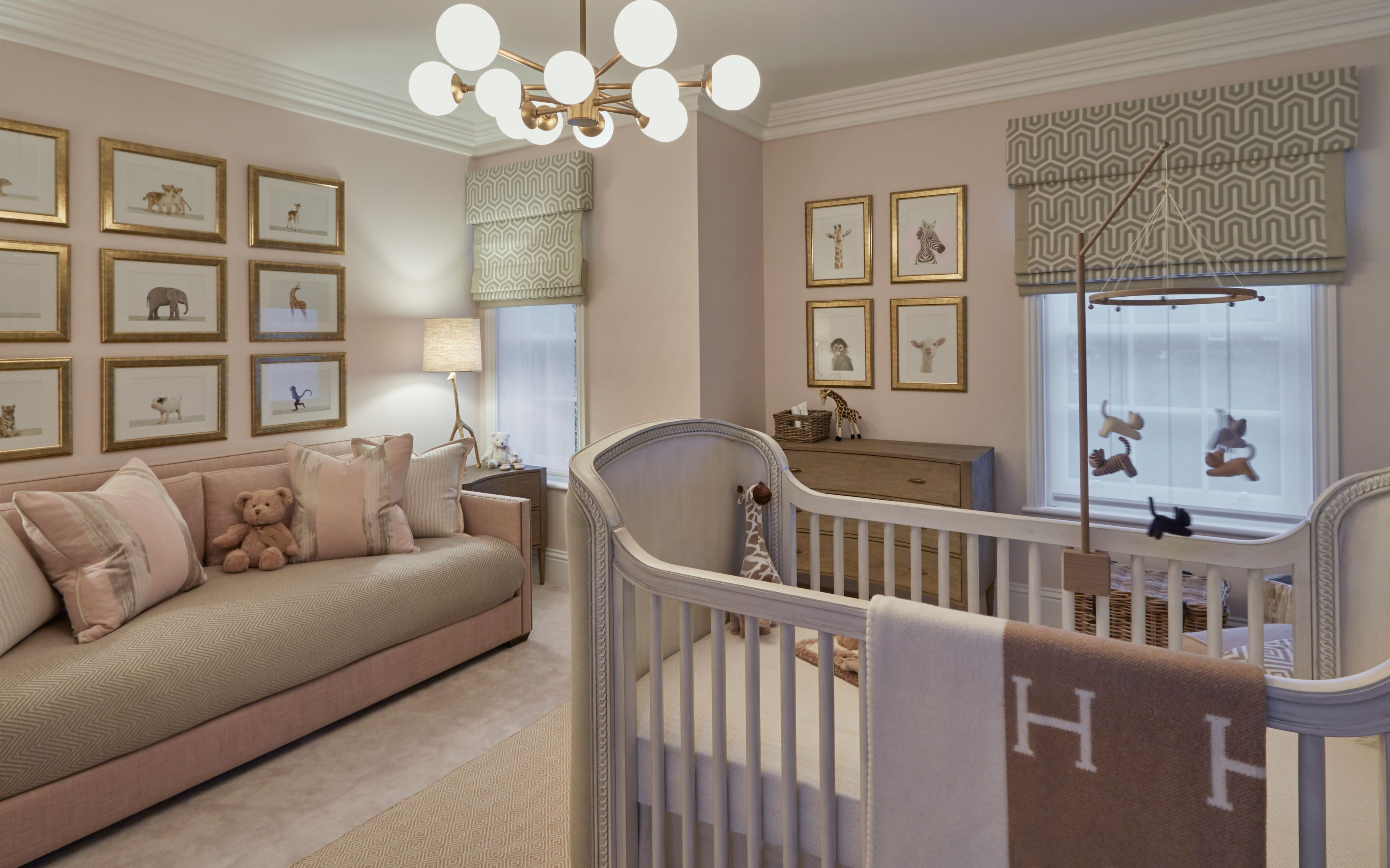Baby Girl Room Ideas | How To Decorate Your Nursery | LuxDeco.com