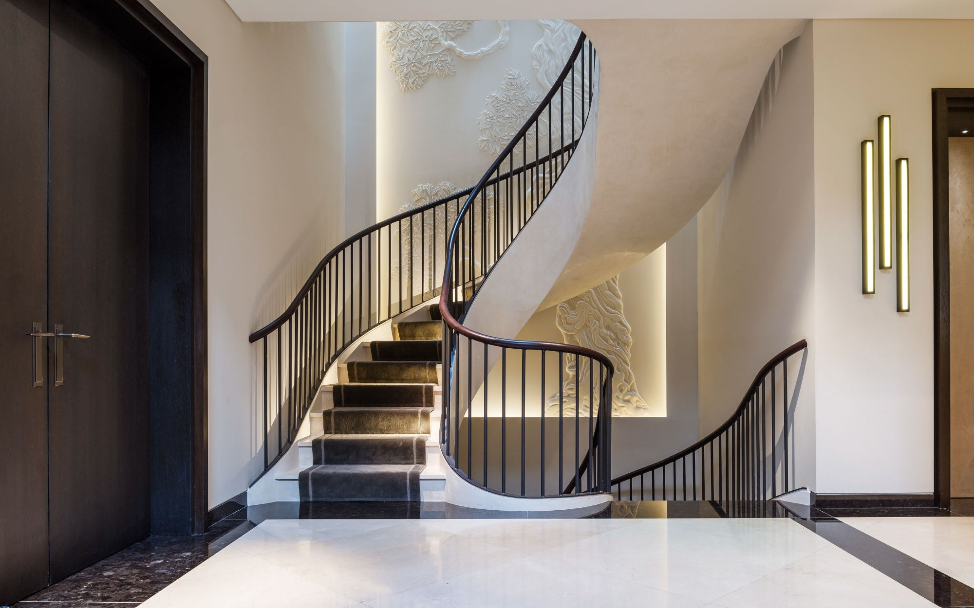 Beautiful Staircase Ideas For Your Home - runner staircase - LuxDeco.com Style Guide