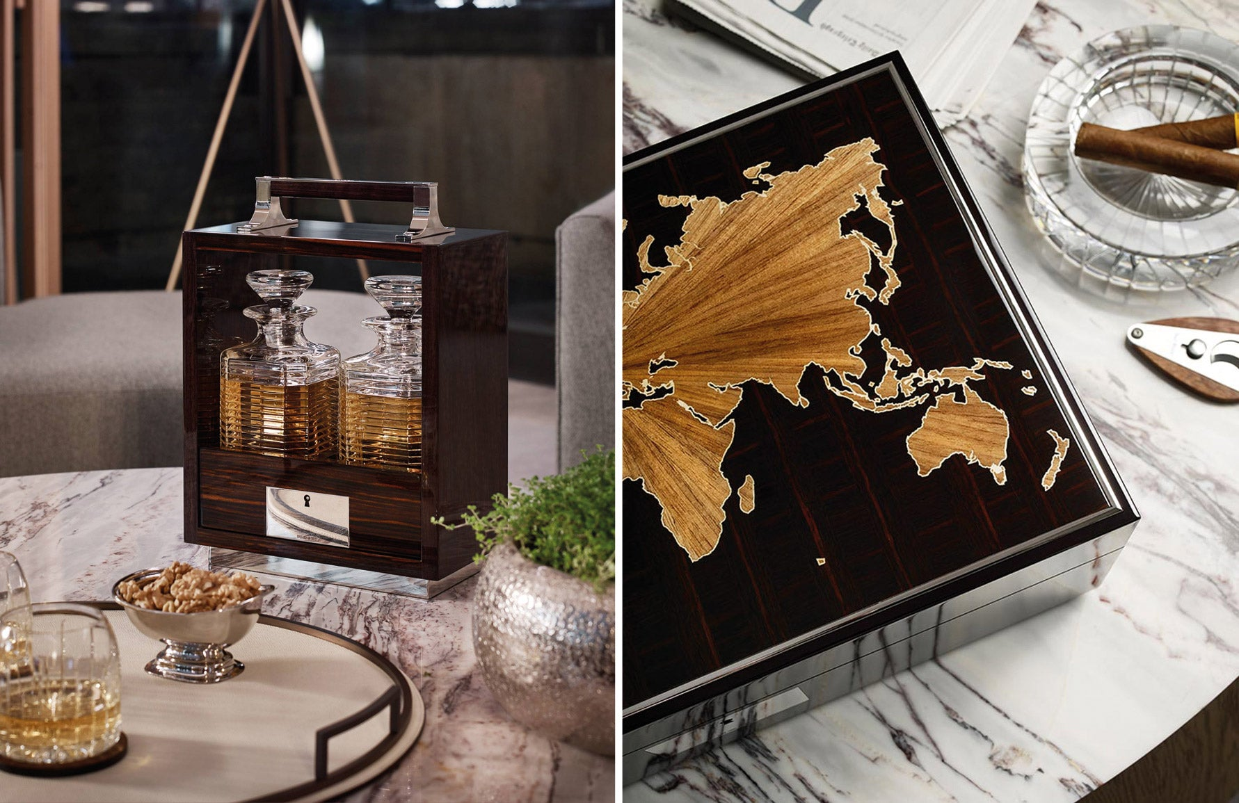 Behind The Brand | Linley Cigar Humidor & Whisky | The Luxurist | LuxDeco.com