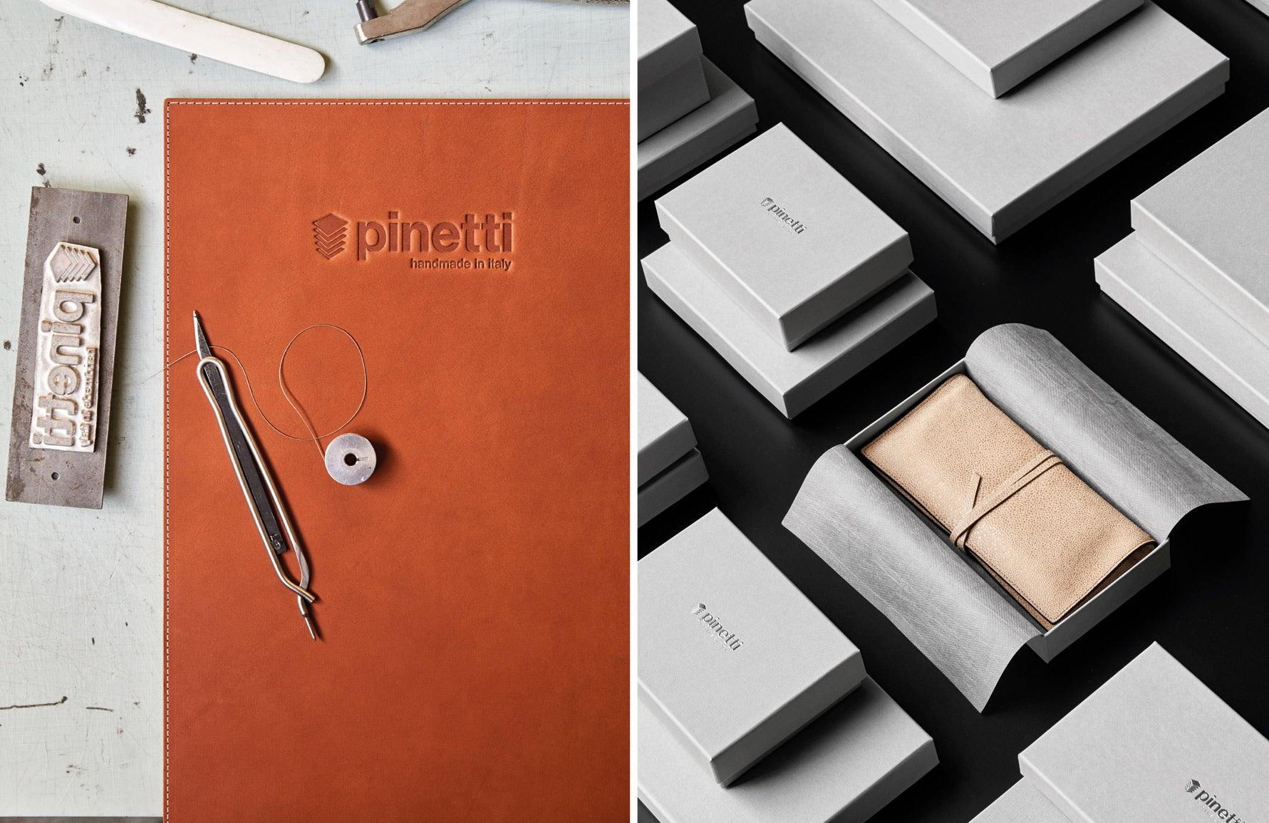 Behind The Brand | Pinetti | Fine Leather Goods | Read more in The Luxurist at LuxDeco.com