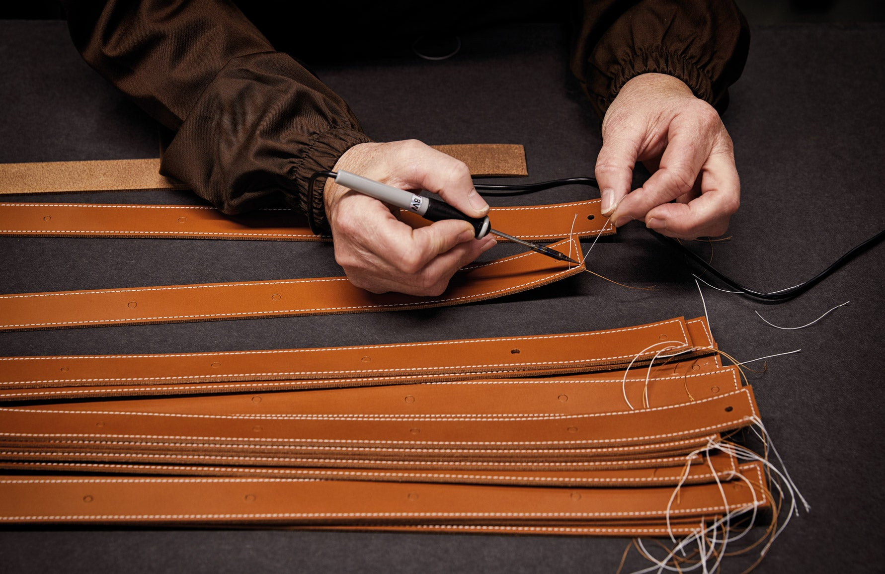 Behind The Brand | Pinetti | Italian Leather Craftsmanship | Read more in The Luxurist at LuxDeco.com