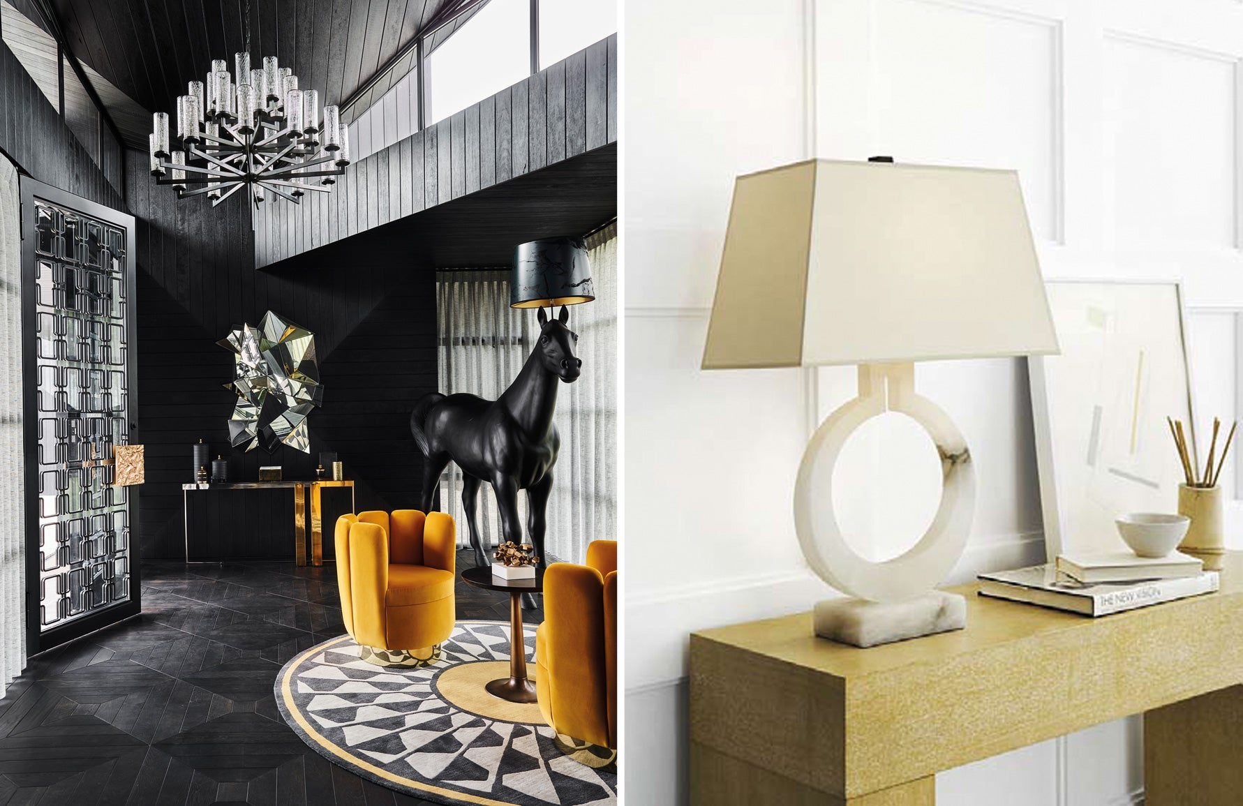 Behind The Brand—Visual Comfort & Co. | Interior by Greg Natale | Shop at LuxDeco.com