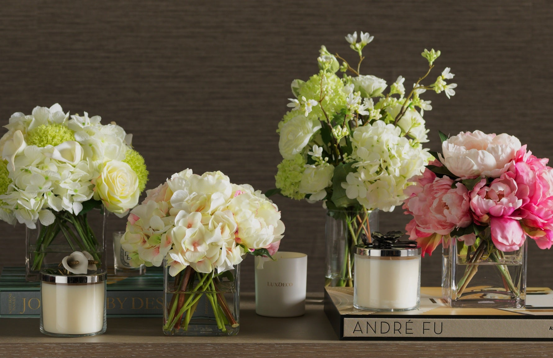 Beautiful Faux Flowers For Your Living Room | Luxury Faux Flowers | Read more in the LuxDeco Style Guide