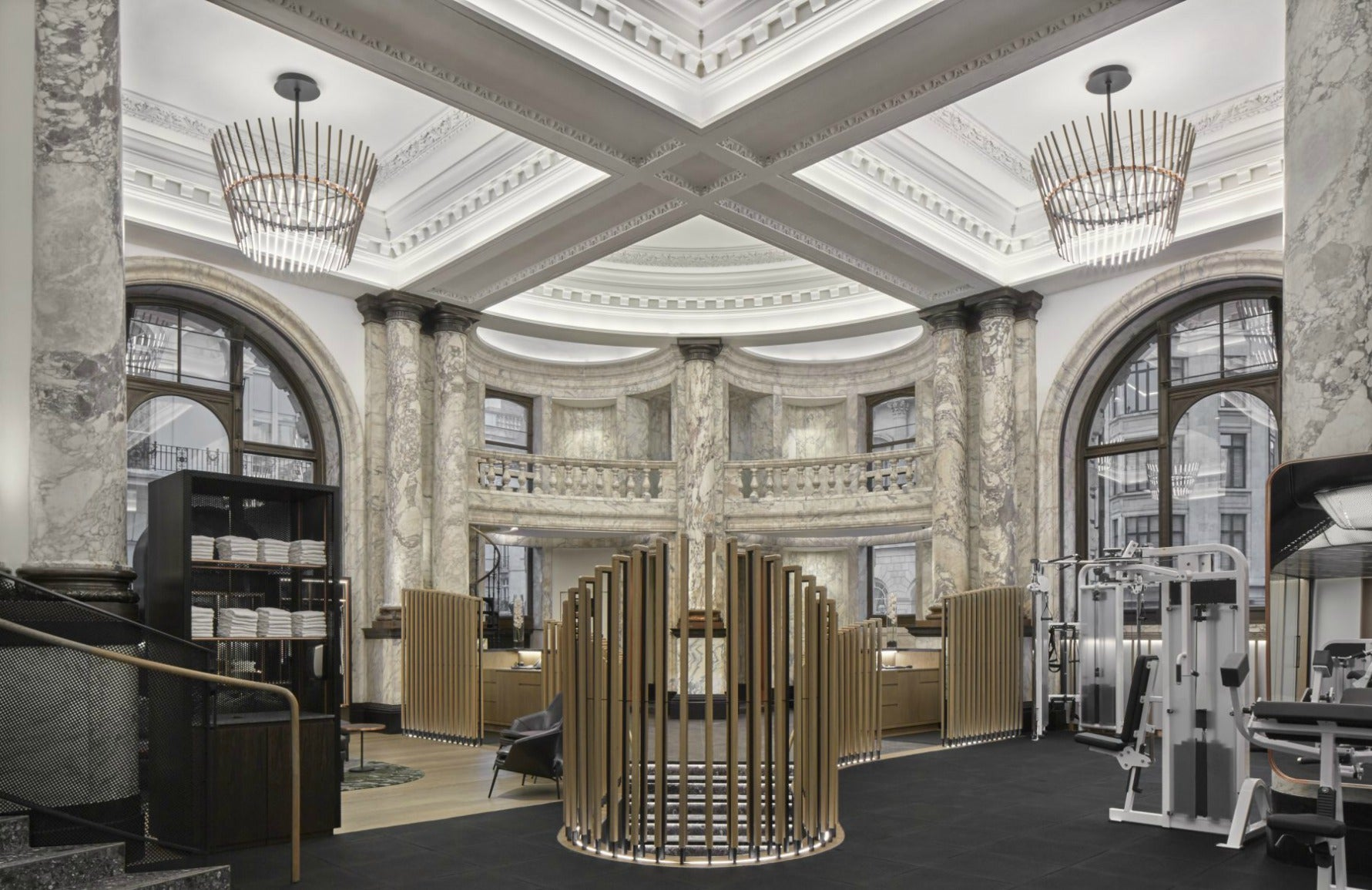 Best Gyms in London Gyms | E by Equinox London |  Read more in The Luxurist at LuxDeco.com