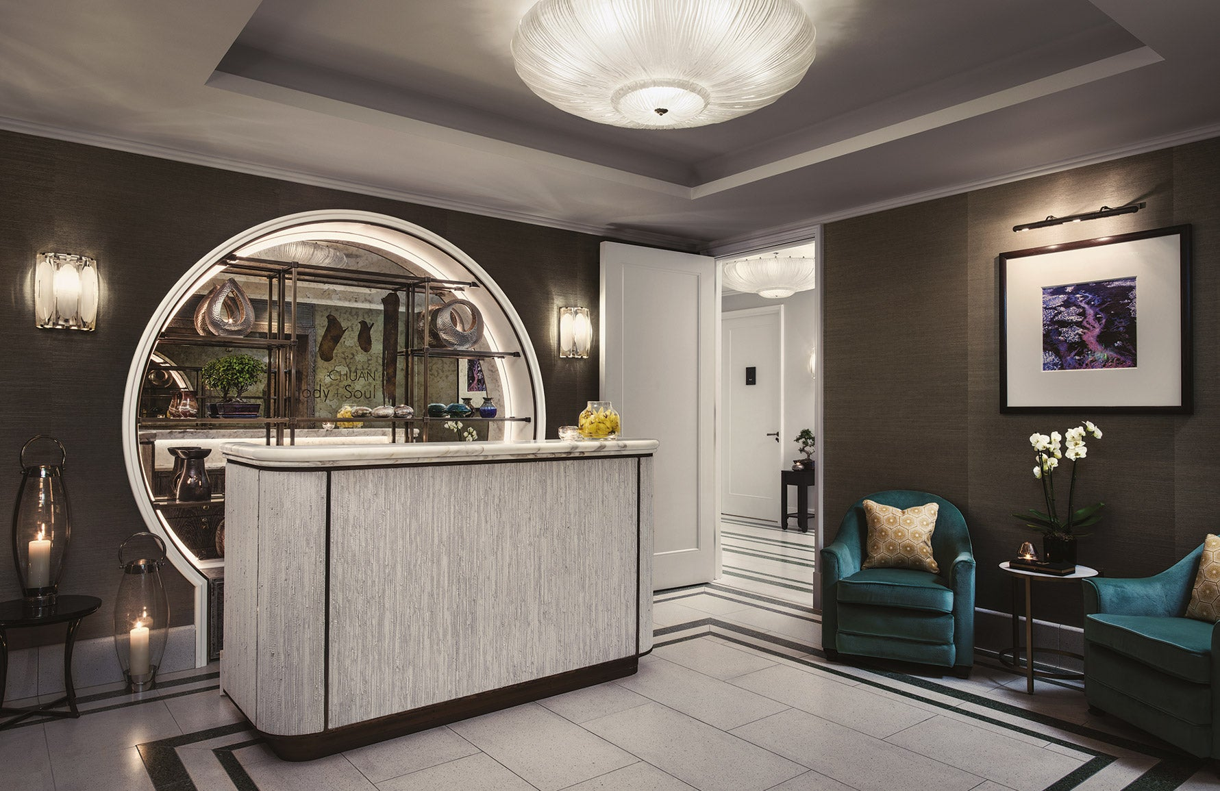 Best Spa In London | Chuan Body + Soul at The Langham | London Spa Hotel | Read more in The Luxurist at LuxDeco.com