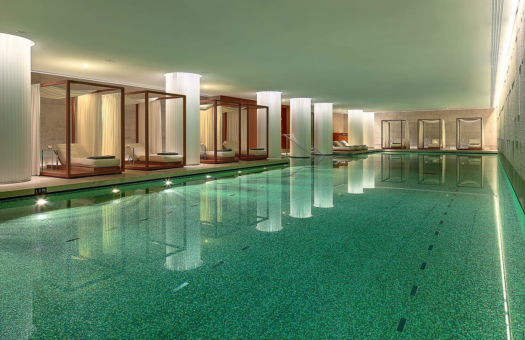 Best Spa In London | The Bulgari Spa | London Spa Hotel | Read more in The Luxurist at LuxDeco.com