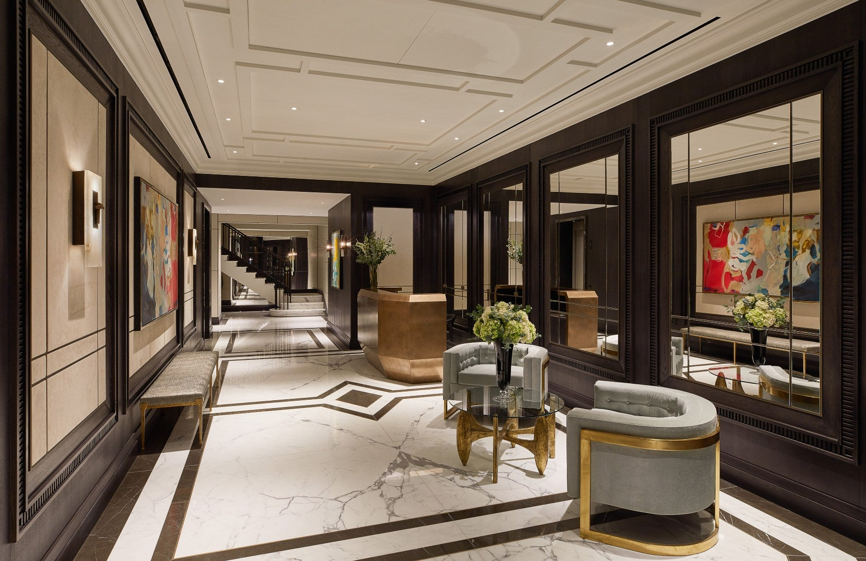The Best of Luxury Interiors & Interior Designers in London – Finchatton Kingwood development –LuxDeco.com Style Guide