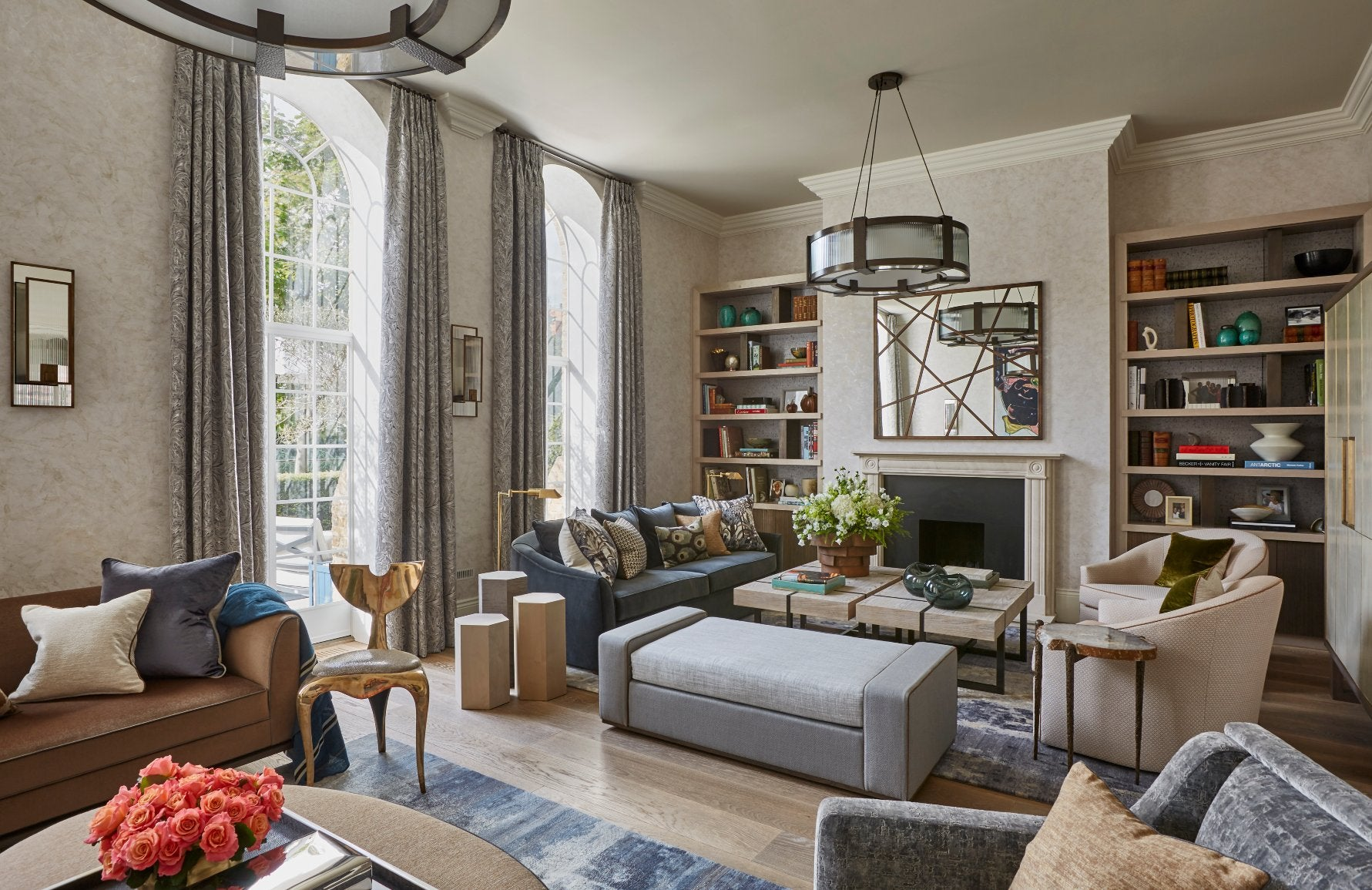 The Best of Luxury Interiors & Interior Designers in London – Helen Green Chelsea Family Home – LuxDeco.com Style Guide