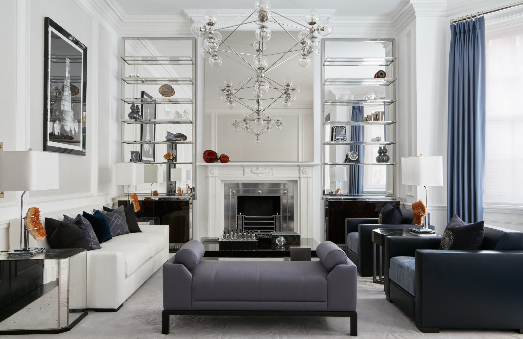 The Best of Luxury Interiors & Interior Designers in London – Katharine Pooley Mayfair Residence –LuxDeco.com Style Guide