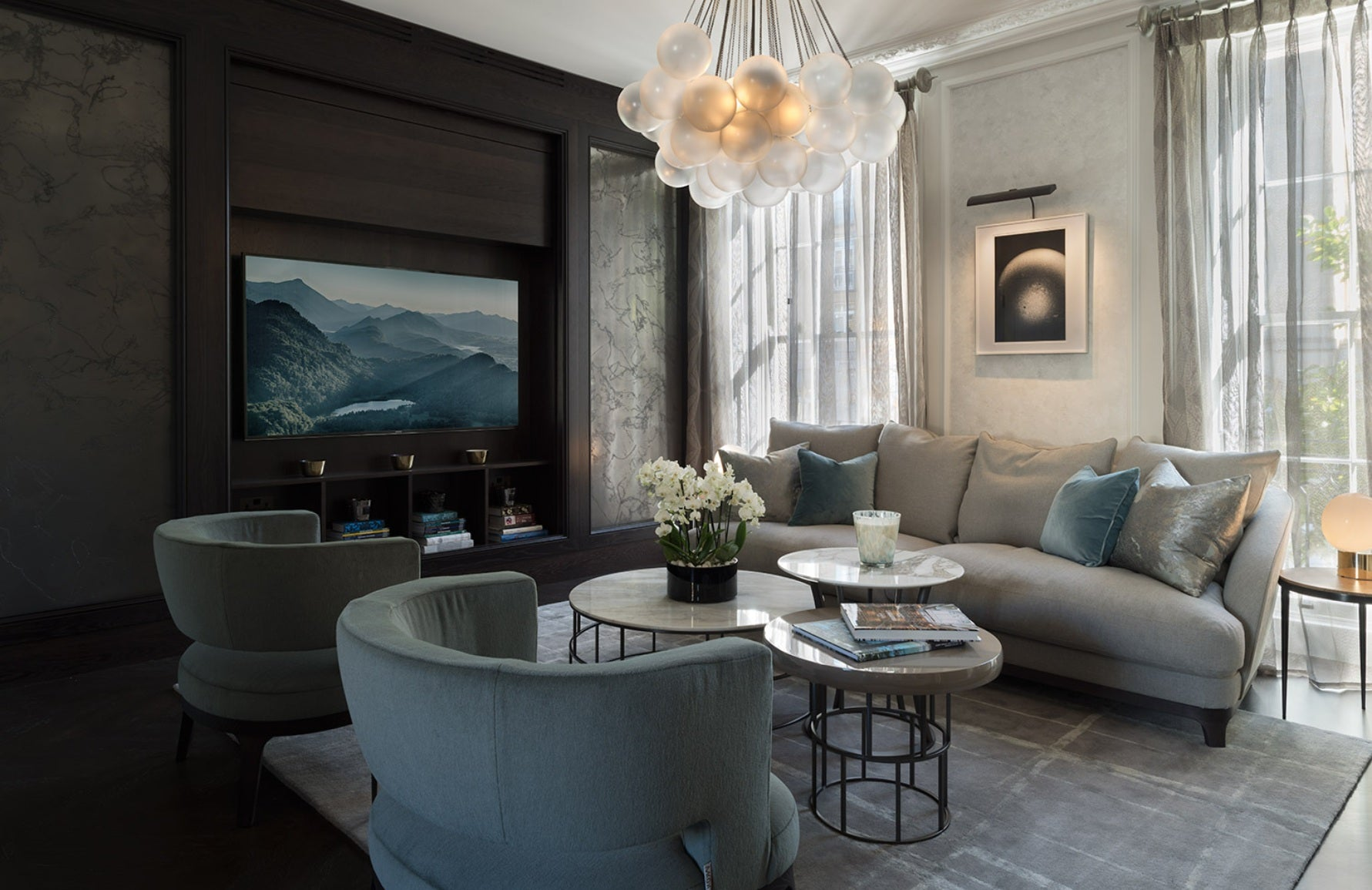 The Best of Luxury Interiors & Interior Designers in London – Staffan Tollgard Knightsbridge Residence –LuxDeco.com Style Guide