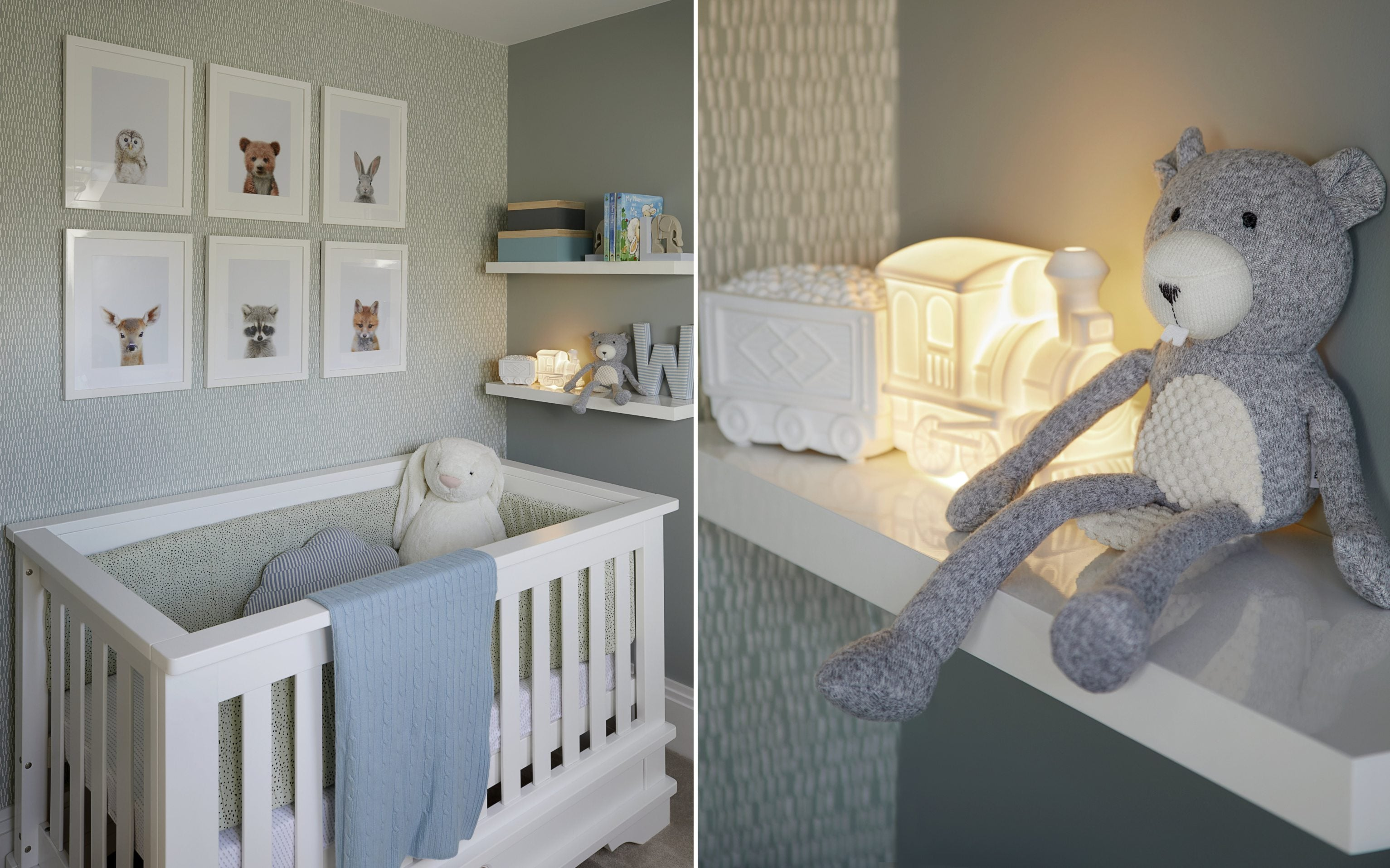 Blue Baby Room Ideas | How To Decorate Your Nursery | LuxDeco.com