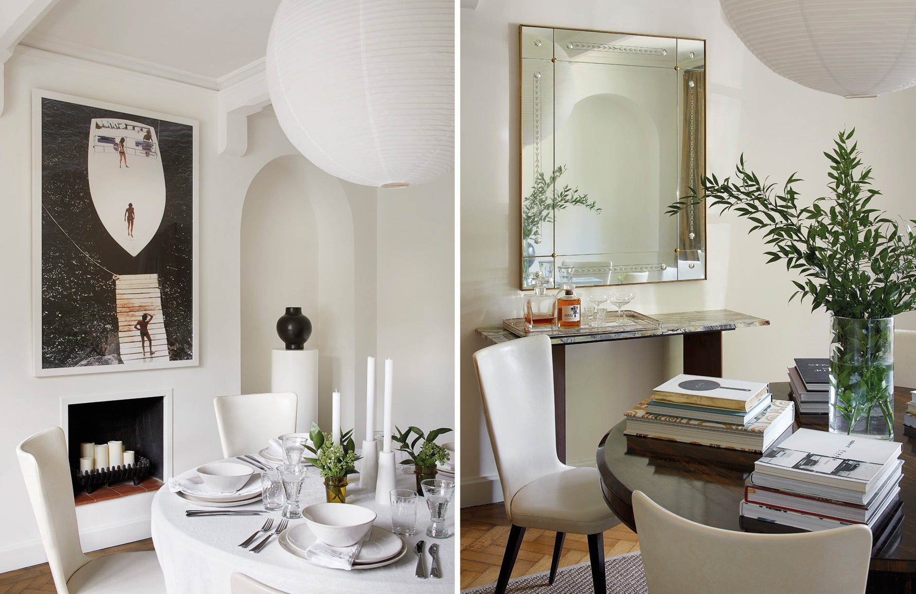 BradyWilliams | Emily Williams Home | Modern Dining Room | LuxDeco.com | The Luxurist