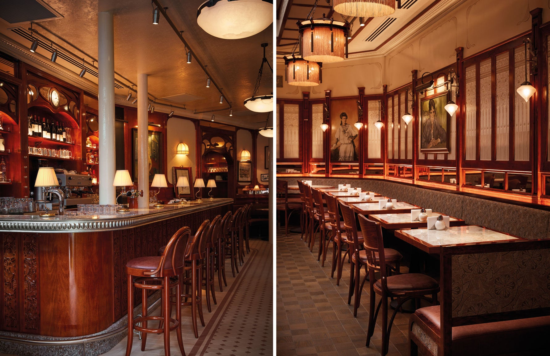 BradyWilliams | Luxury Restaurant Design | Soutine | LuxDeco.com | The Luxurist