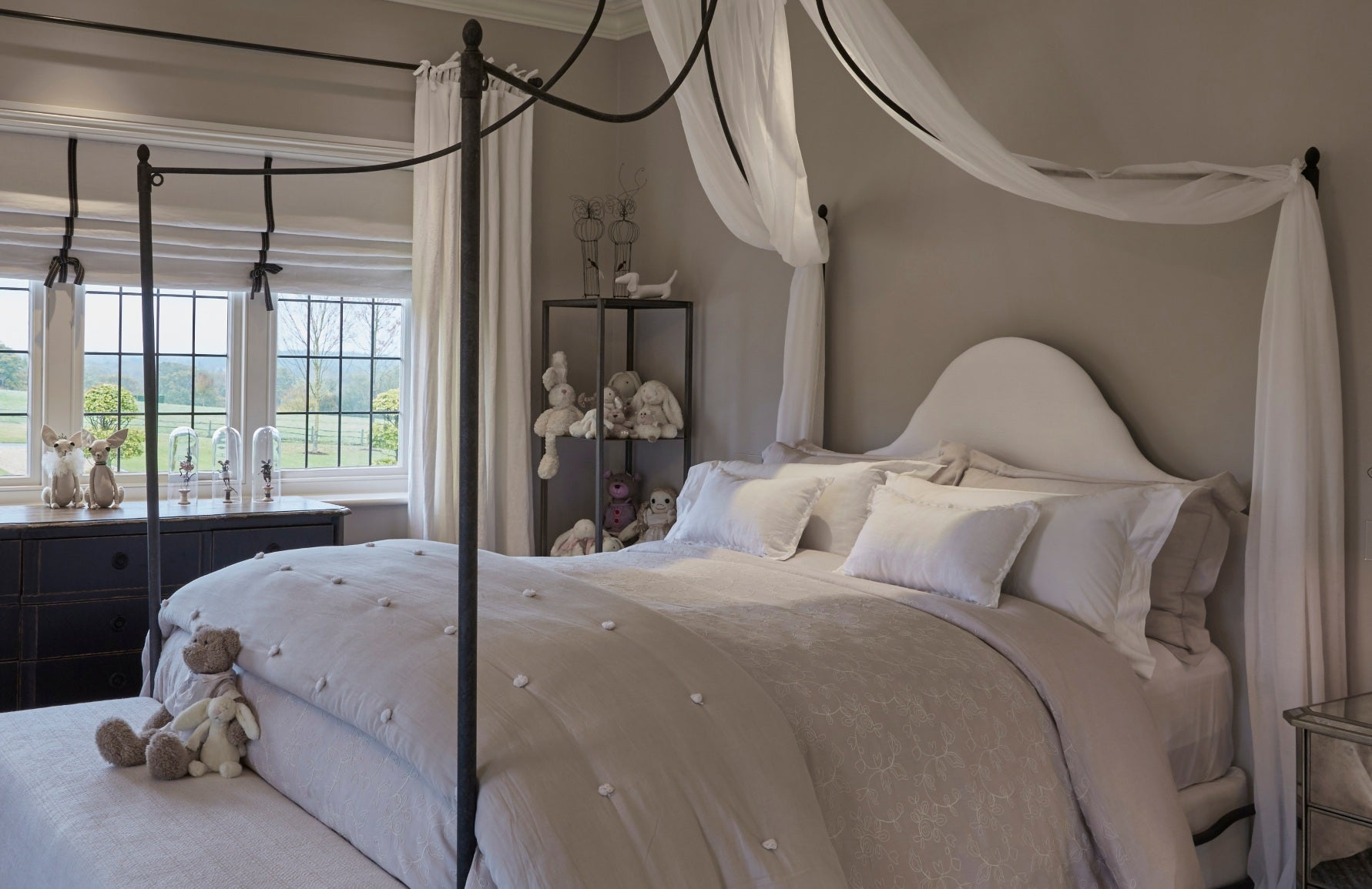 Childrens Bedroom Ideas - Girls bedroom ideas - Kids Bedroom Designs _ Louise Bradley _ Read more in the LuxDeco.com Style Guide
