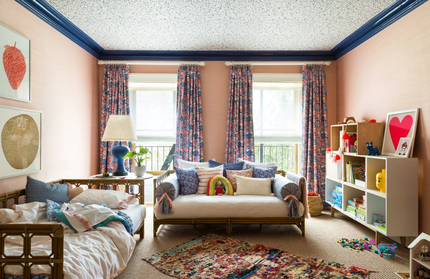 Childrens Bedroom Ideas _ Bella Mancini _ Photo courtesy of Brooklyn Heights Decorator Showhouse _ Read more in the LuxDeco.com Style Guide