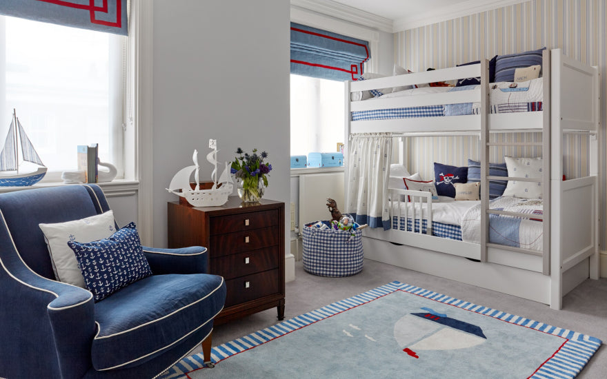 Childrens Bedroom Ideas _ Katharine Pooley _ Read more in the LuxDeco.com Style Guide