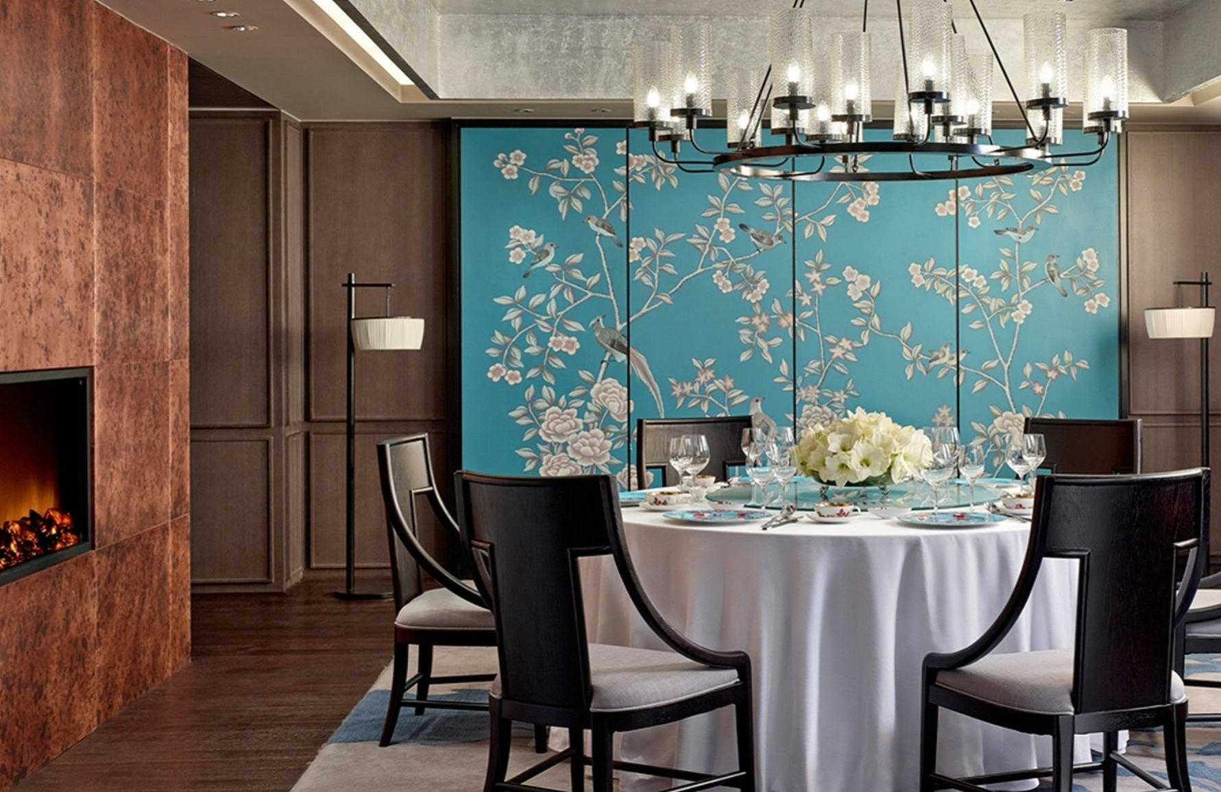 Chinese Interior Design _ The Langham _ Read more in the LuxDeco.com Style Guide