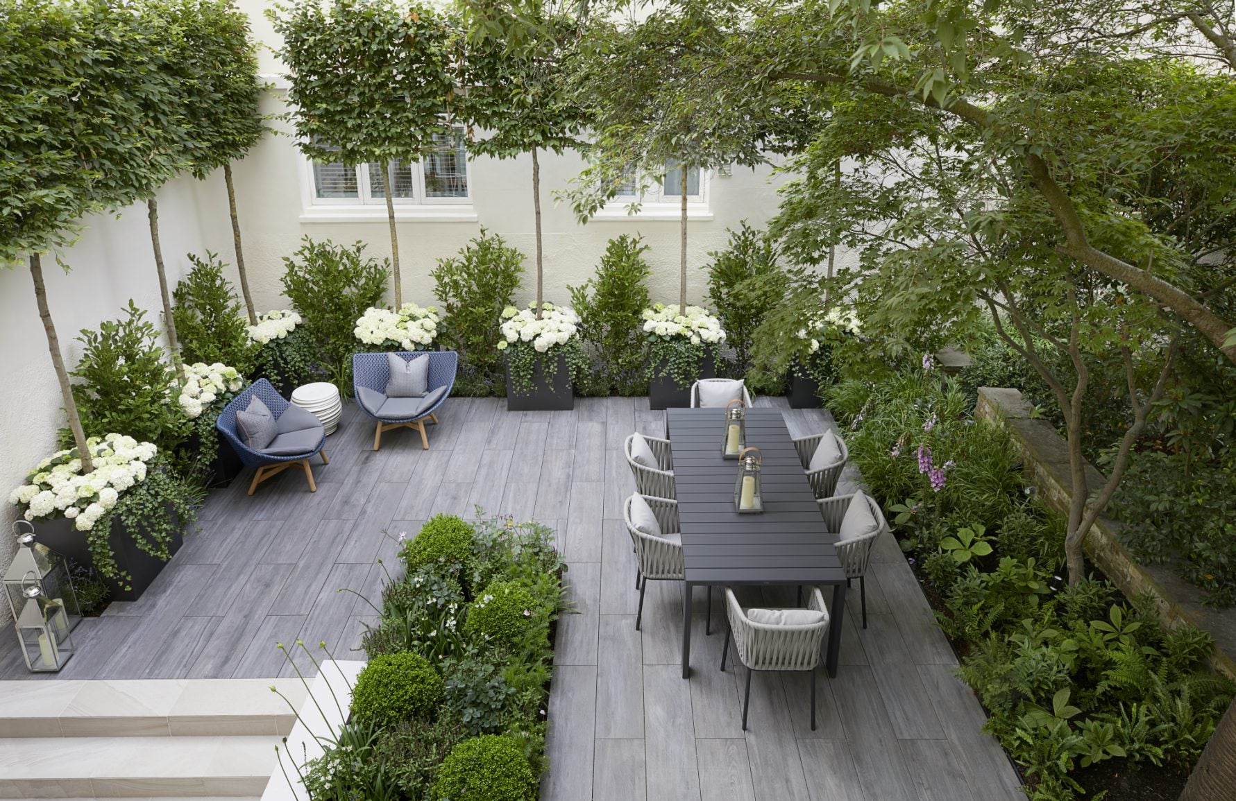 City Garden Ideas | Finchatton | Read more in The Luxurist | LuxDeco.com