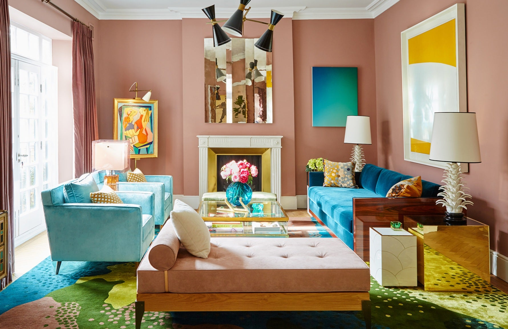 Colourful Interiors | Interior by Peter Mikic | Shop colourful decor on LuxDeco.com