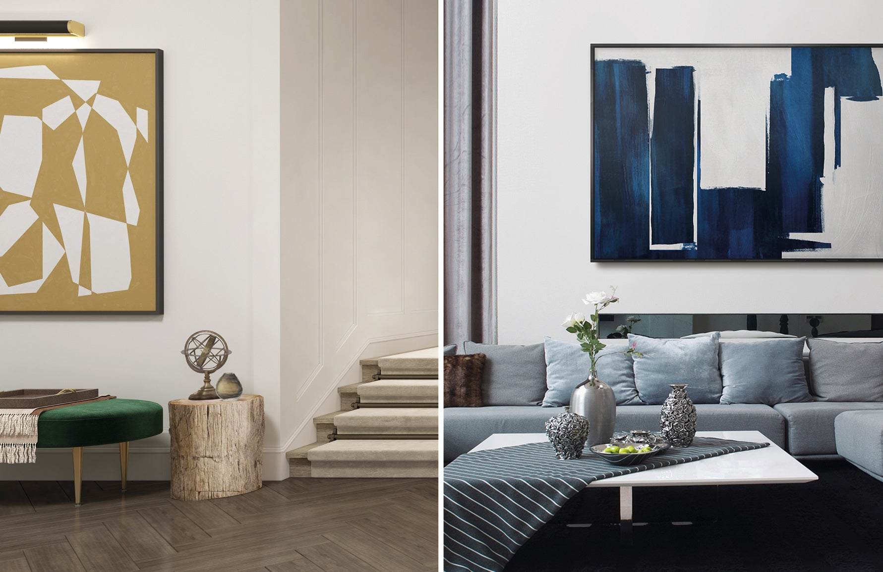 Contemporary Art Online at LuxDeco.com   Abstract Artwork   PICTOCLUB