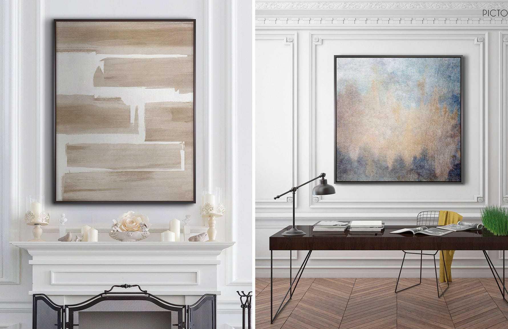Contemporary Art Online at LuxDeco.com   PICTOCLUB   Abstract Artwork